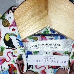 Contemporaine blouse size small
